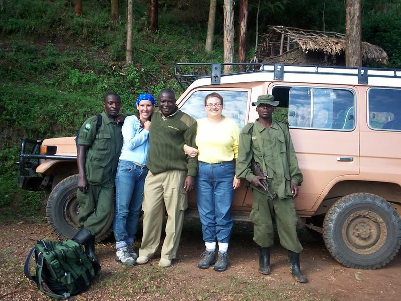 safety while on gorilla trek